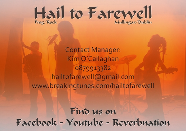 Corporate Farewell Card Design