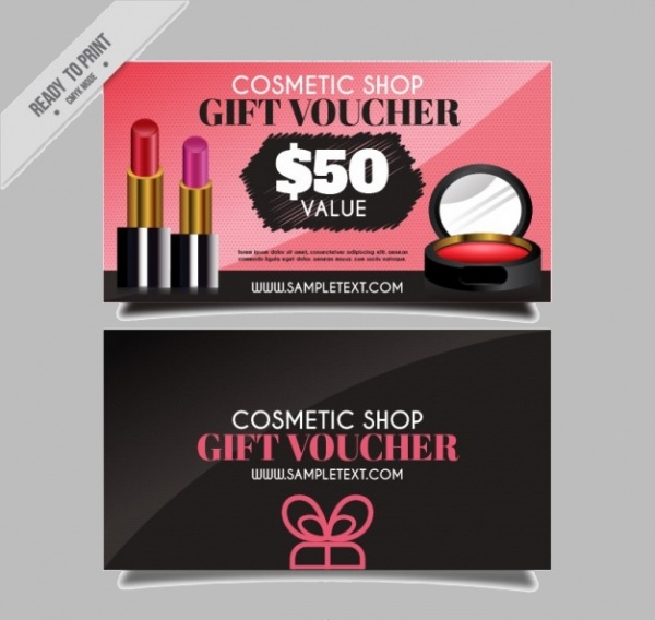 Cosmetic Shop products Banners