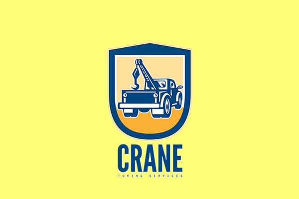 Crane Truck Logo Design