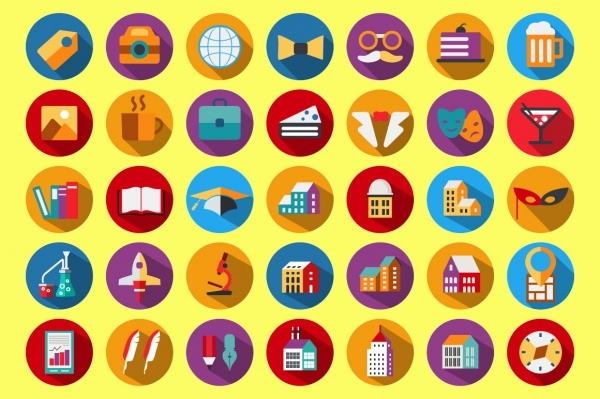 Creative City Holiday Icons