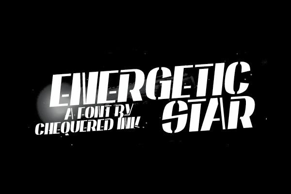 Creative Energetic Star Font