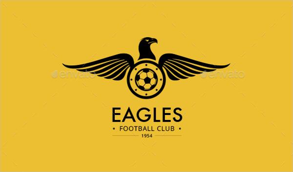 Creative Outline Football Logo