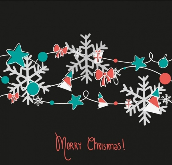 Creative Snowflake Clipart