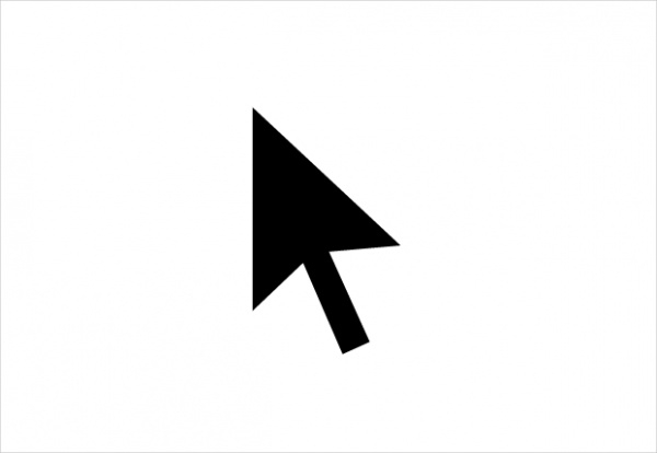 Cursor Icon in Material Style