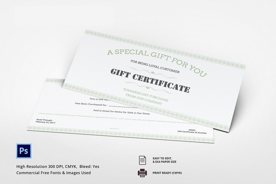 free 7  gift certificate ideas   spa  restaurant  travel