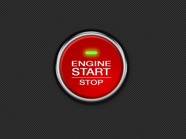 Customized Engine Start Button