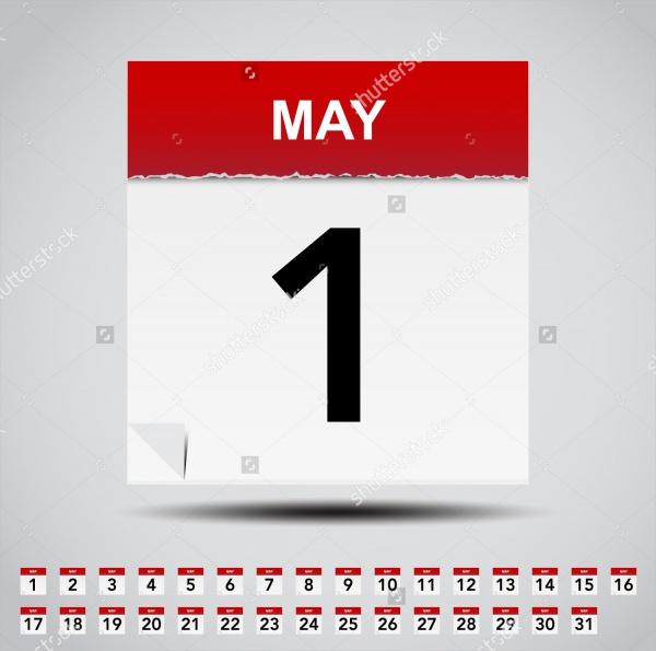 Daily Desktop Calendar