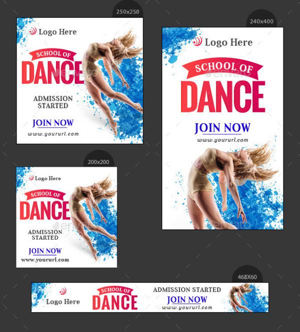 Dance School Banner