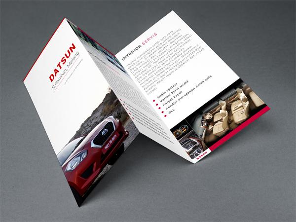 Datsun Tri Fold Brochure