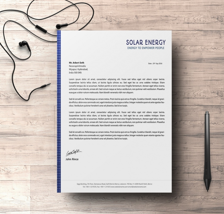 download energy environment letterhead