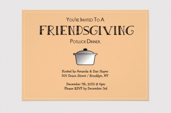 download friendsgiving invitation design