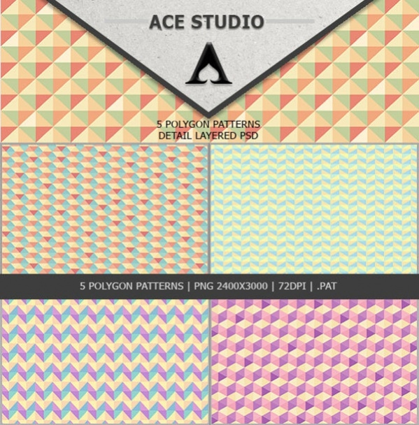 Download Polygon Patterns Pack