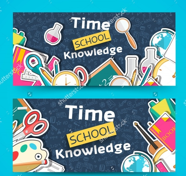 Download School Banner Design