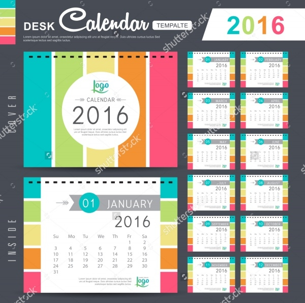 Download Yearly Calendar Design