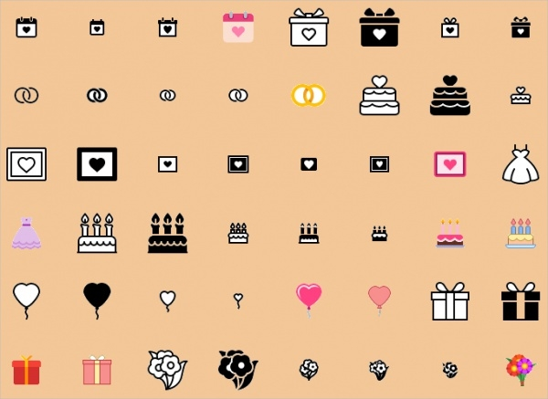 Download anniversary Icons For Free