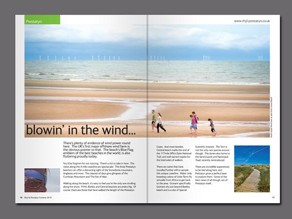 Downloadable Tourism Brochure Design