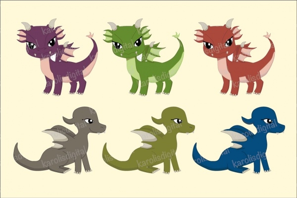 Dragon Vector Clipart