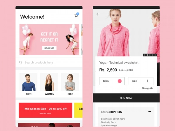 E-commerce Product Concept Banners