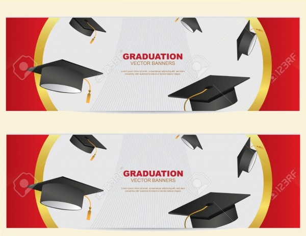 Editable Graduation Application Banner