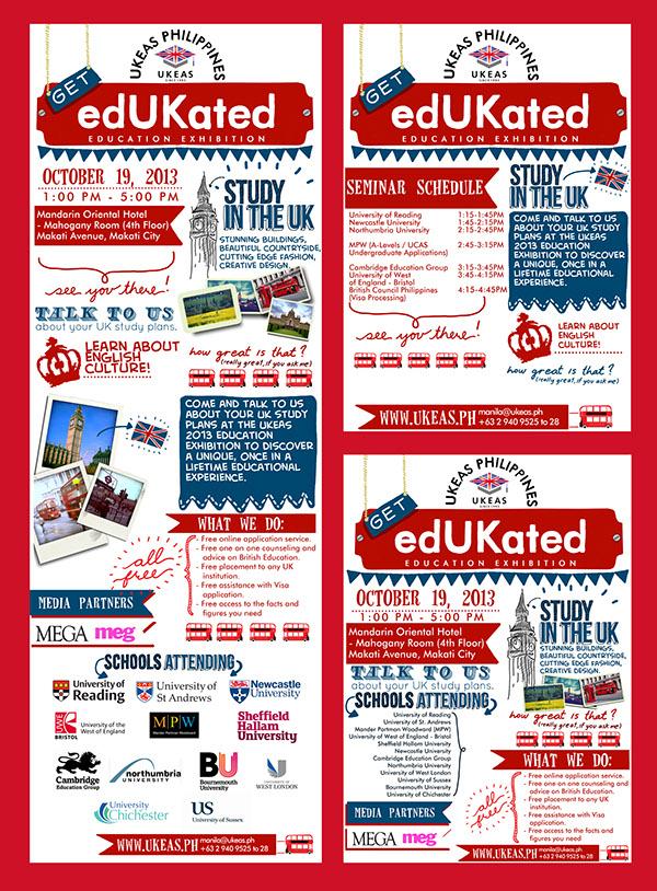 Education Fair rollup BAnners