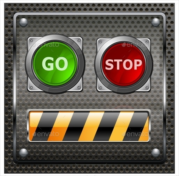 Electrical Go Stop Button