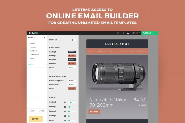 Electroshop-Business Email Template