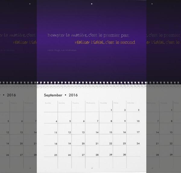 Elegant Academic Calendar Design