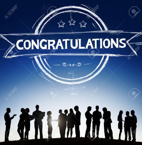 Elegant Congratulations Banner