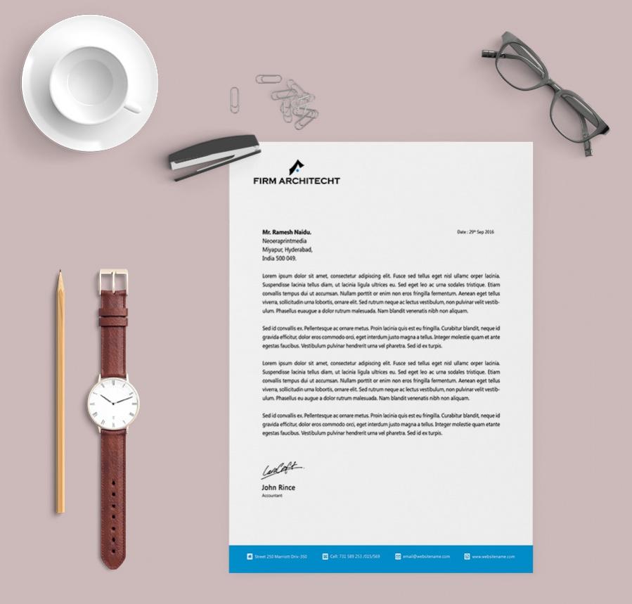 elegant letterhead template - Keni.candlecomfortzone.com