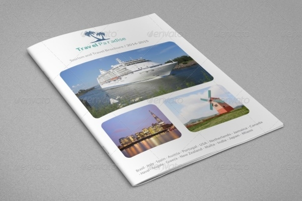 Elegant Tourism Brochure Design