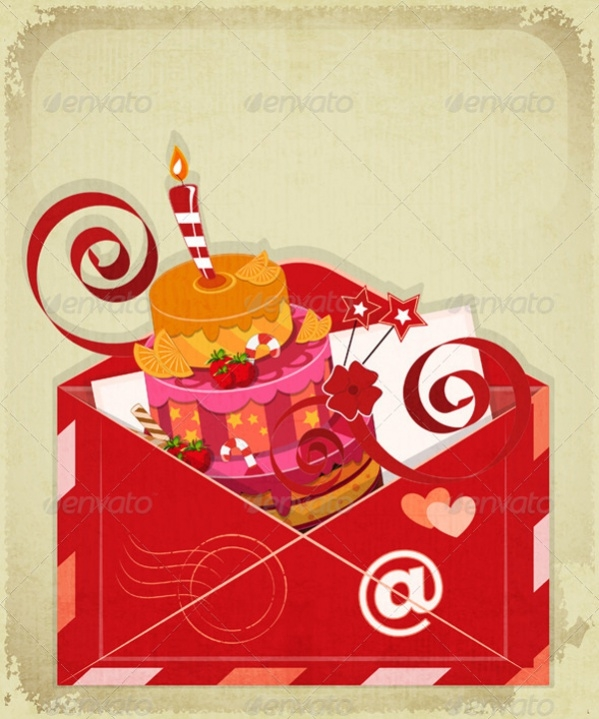 Email Happy Birthday Card