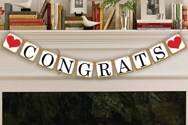 Engagement - Wedding Sign Banner