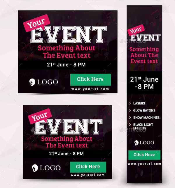 20 Event Banner Designs Psd Ai Illustrator Download