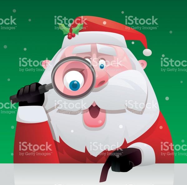 Family Santa Claus Clipart