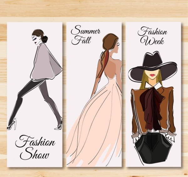 Fashion event show banners