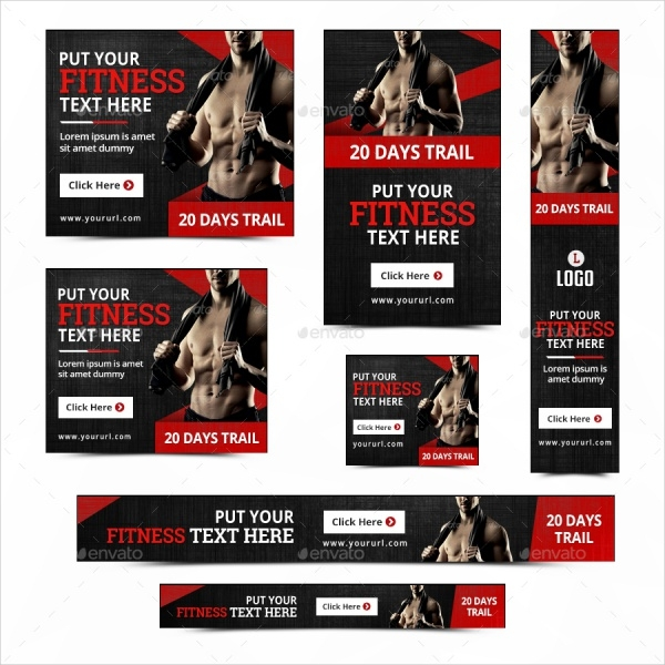 fitness motivational banner design1