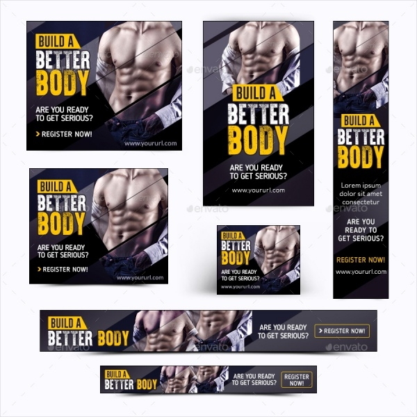 Fitness Outdoor Banner Template