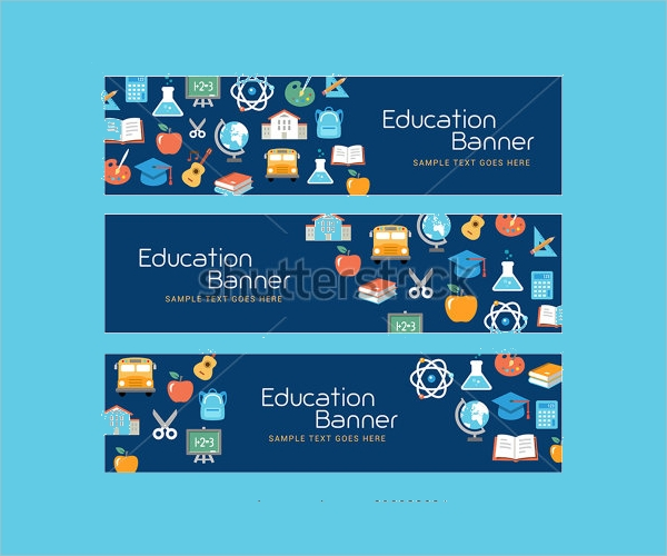 Flat Education Resources Banner