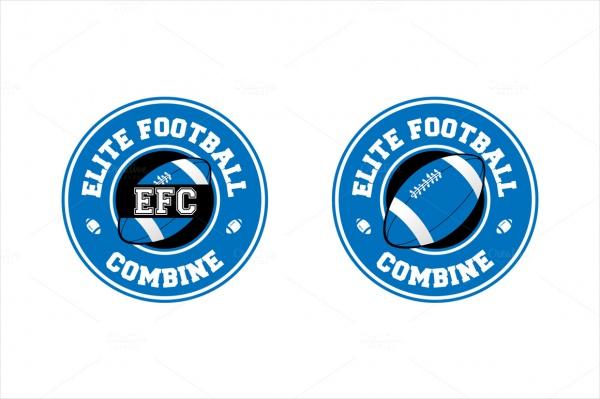 Football Classic Logo Template