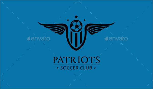 Football Vector Logo for patriots