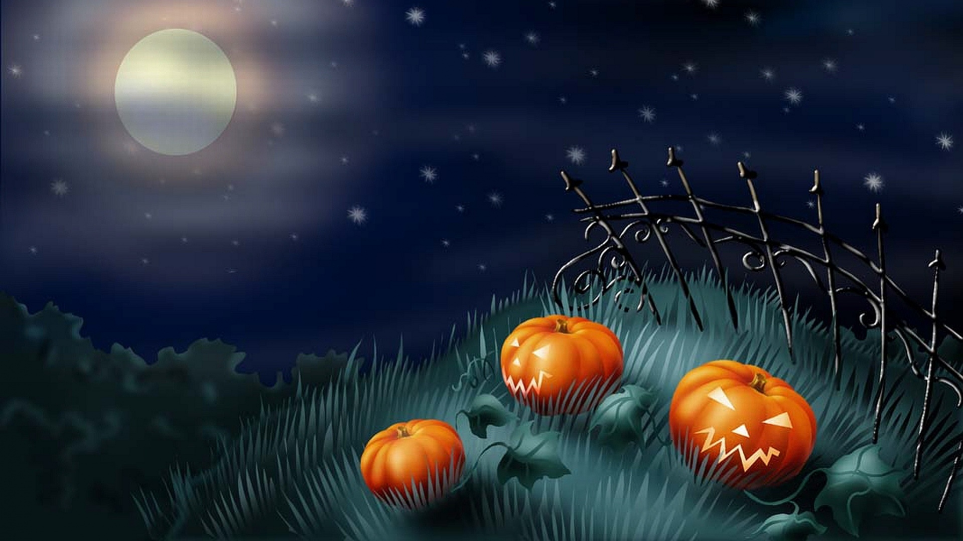 Free Abstract Halloween Wallpaper