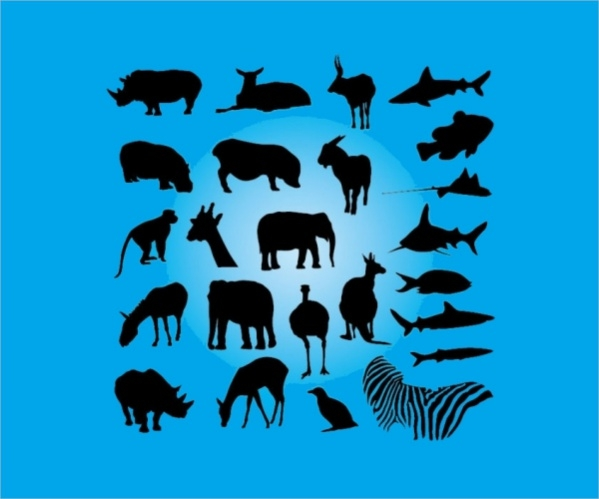 free-animal-silhouettes-design