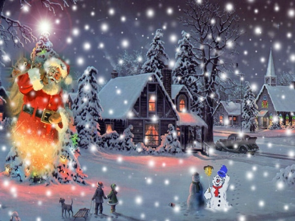 Free Animated Christmas Wallpaper