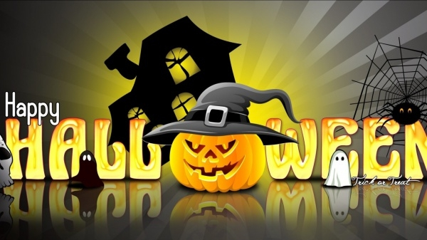 Free Animated Halloween Wallpaper