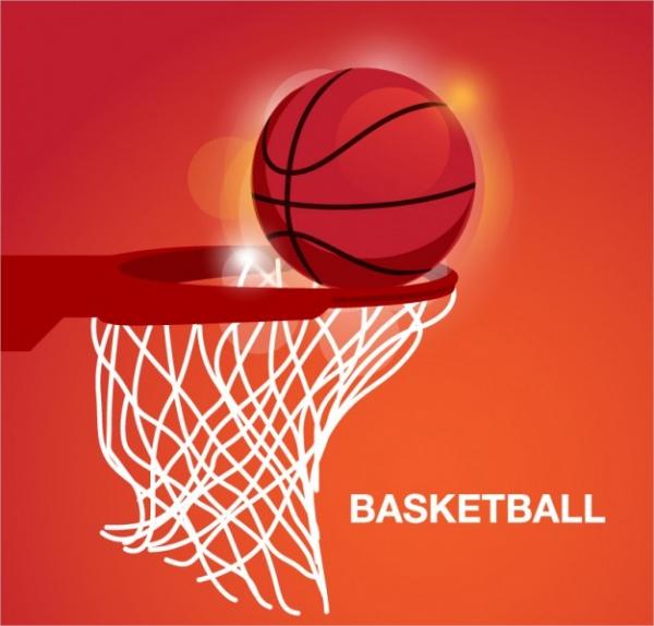 Free Basketball Vector Art
