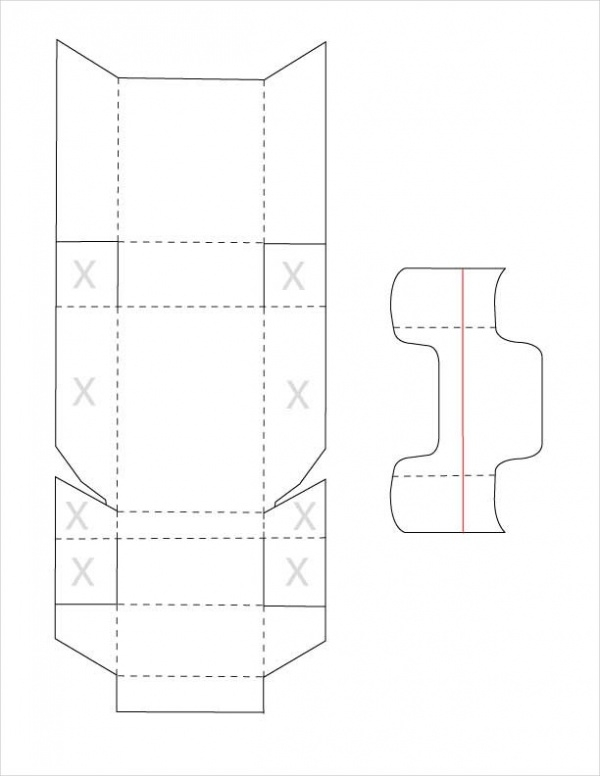 free blank box template1