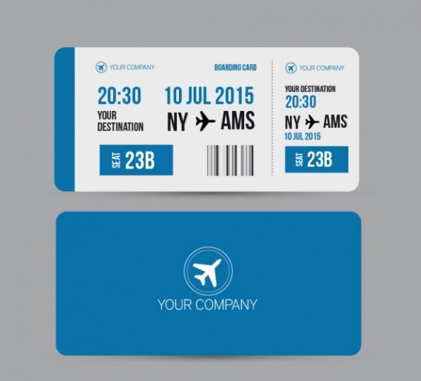 Free Boarding Pass Ticket