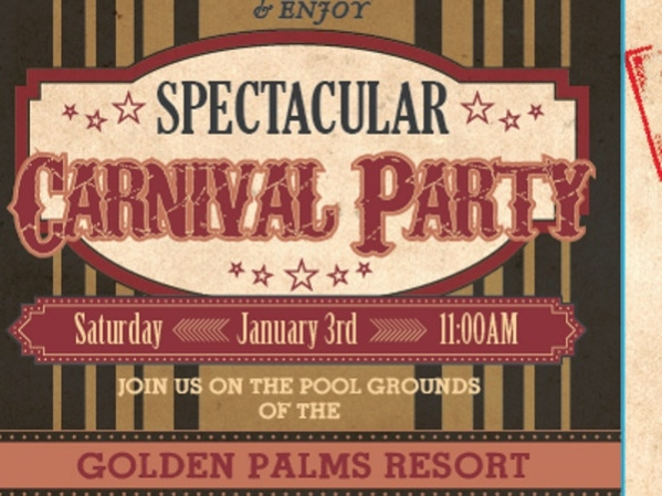Free Carnival Party Invitation