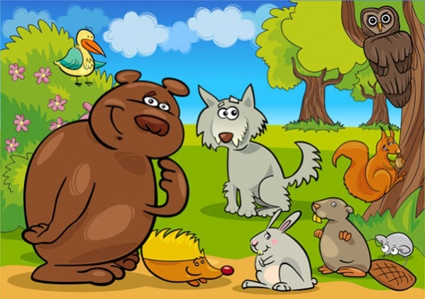 Free Cartoon Animals