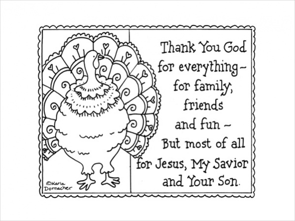 thanksgiving coloring pages religious creation - photo#15